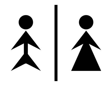 wc sign: Toilete sign - wc sign