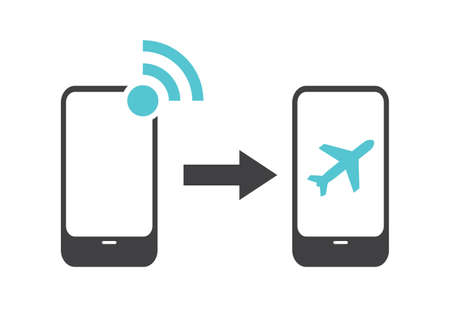 airplane: Airplane mode - flight mode