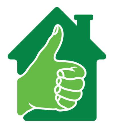 transakcji: Udane transakcje na rynku nieruchomości Ilustracja