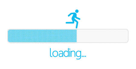 Loading bar Stock Illustratie