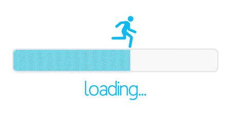 Loading bar Illustration