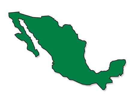 mexiko karte: Mexiko-Karte