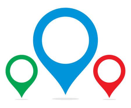 map pin: Map pointer