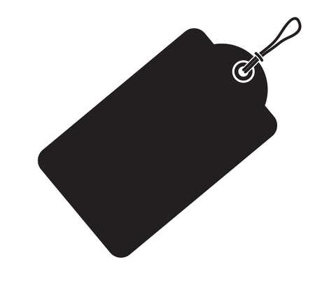 paper tag: Price tag - Sale icon Illustration