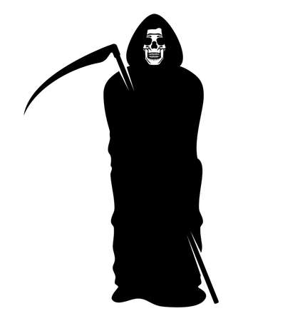 Death - Grim Reaper Illustration