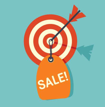 dart on target: Target sale