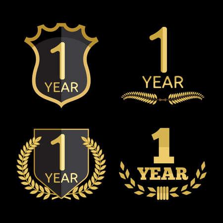1 year anniversary: 1 year anniversary set