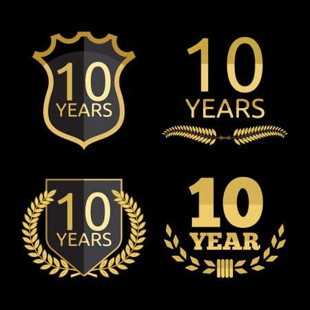 10 years: 10 years anniversary set