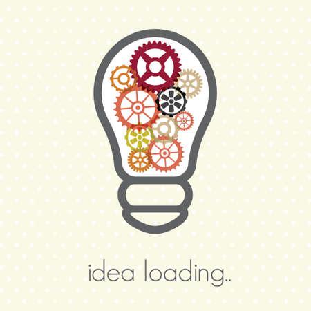 public relations: Idea loading Illustration