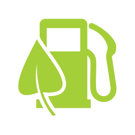 Eco gas station sign