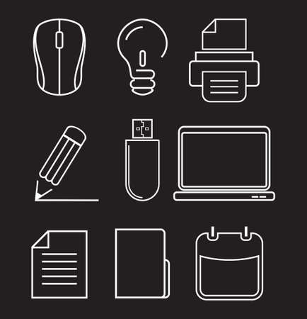 mouse pad: Computer icons - graphic design elements