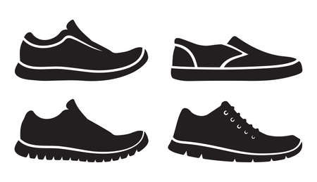 shoe: Running shoes icons