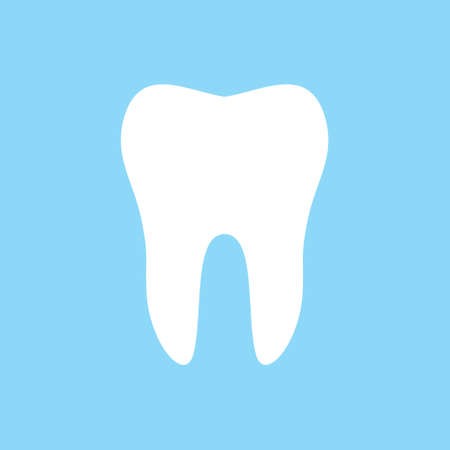 smile  teeth: Tooth vector icon Illustration