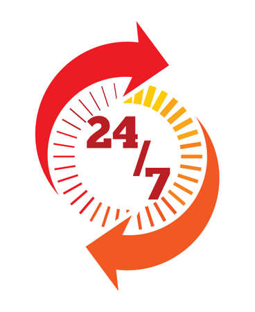 24 hour: all day customer support call center