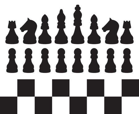 Chess illustration Vector