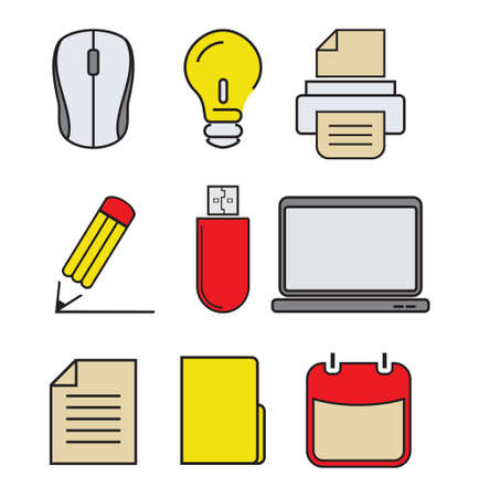 pendrive: Computer icons - graphic design elements