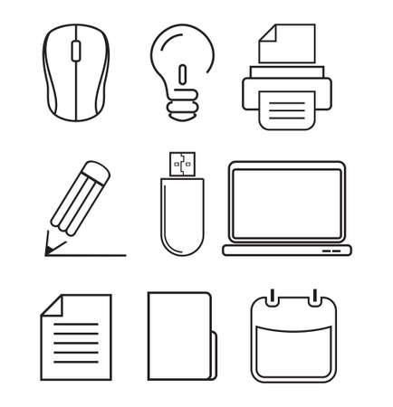 Computer icons - graphic design elements