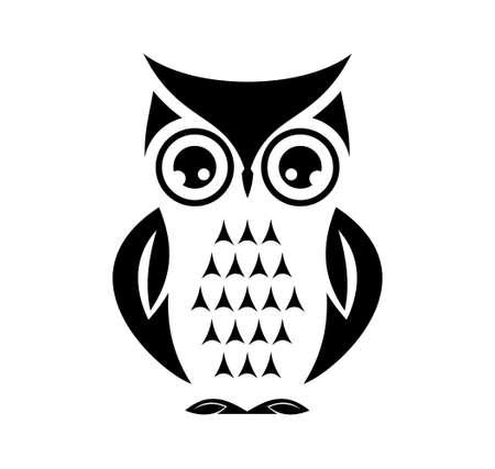 Cute owl  イラスト・ベクター素材