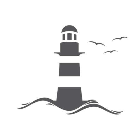 Lighthouse: Lighthouse illustration Illustration