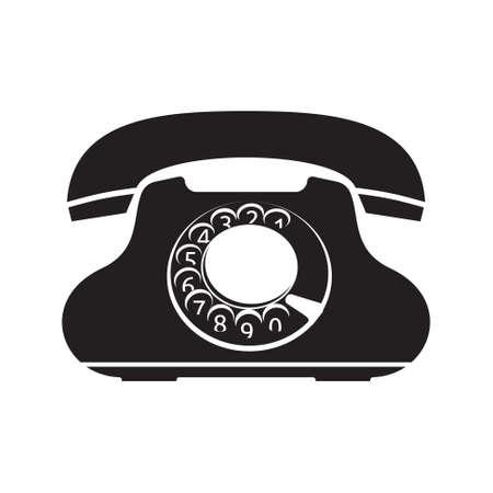 old telephone: Old telephone icon