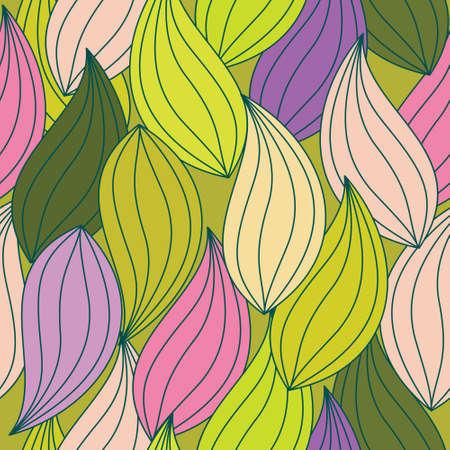 leaf pattern: Leaf seamless pattern