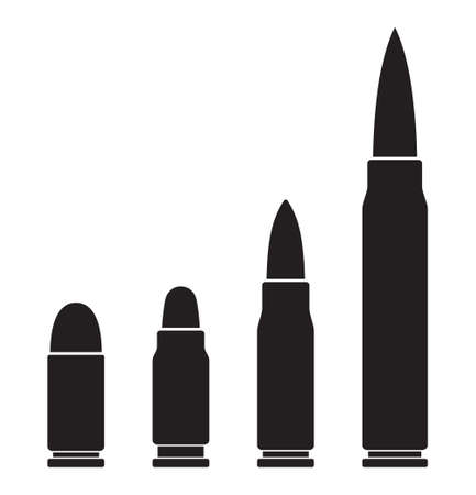 Bullets icons Illustration