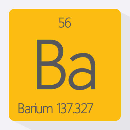 Periodic table Barium