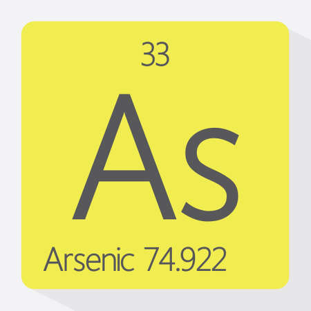 arsenic: Periodic table Arsenic Illustration