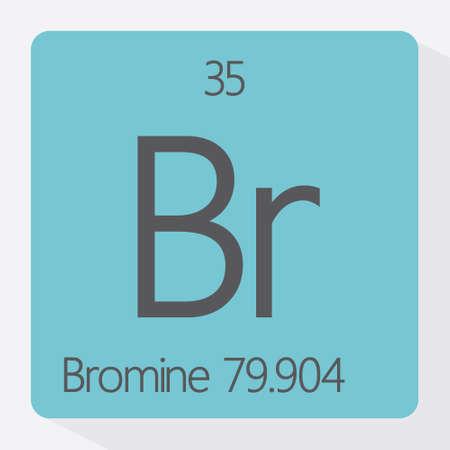 periodic: Periodic table Bromine