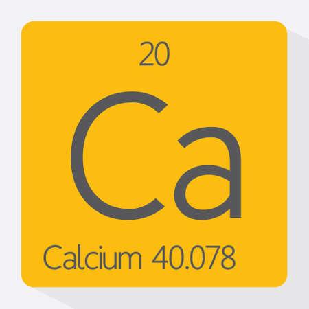 calcium: Periodic table Calcium