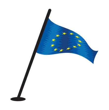 EU vector flag