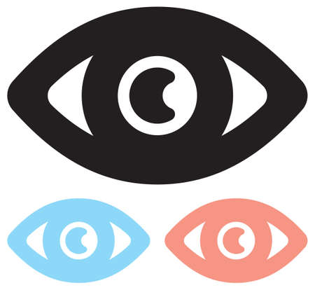 yeux: Vector icône oeil