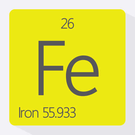 affinity: Periodic table Iron