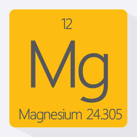 magnesium: Periodic table Magnesium Illustration