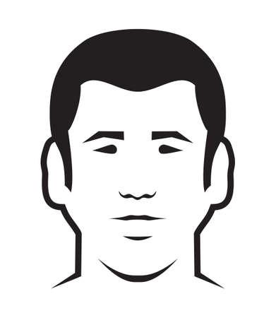 human vector: Men avatar vector icon