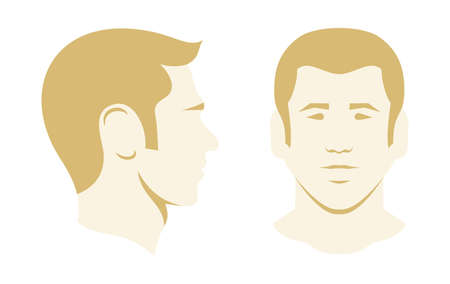 Men vector illustration icon