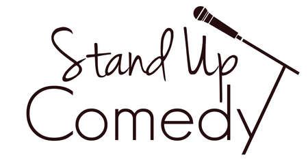 Stand up comedy illustrazione vettoriale