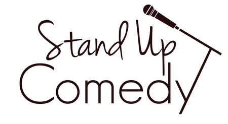 comedy show: Stand up comedy vector illustration