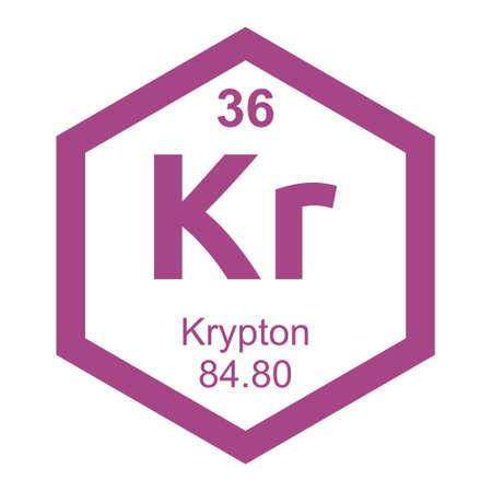 krypton: Periodic table Krypton
