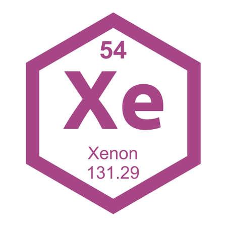 xenon: Periodic table Xenon