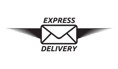 express delivery: Express delivery vector icon Illustration
