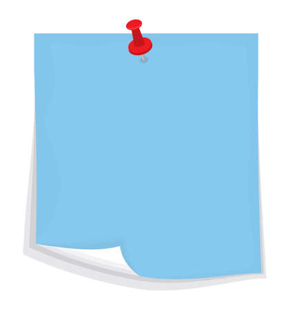 adhesive note: Vector sticky note