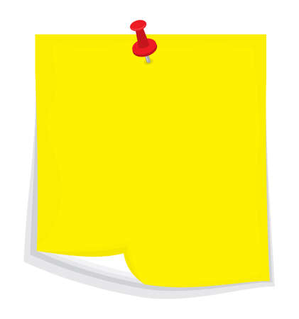 sticky note: Vector sticky note