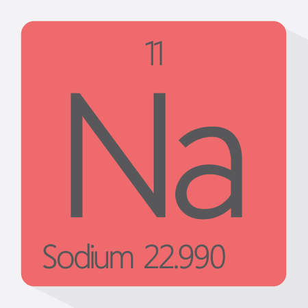 mendeleev: Periodic table Sodium