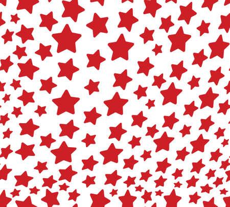 Stars vector seamless pattern Vector