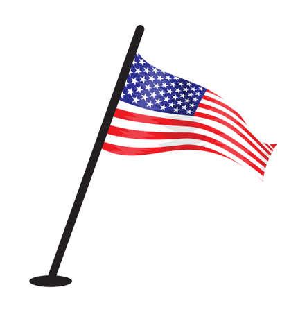 USA vector flag Vector