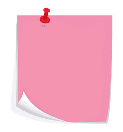 attached: Vector sticky note