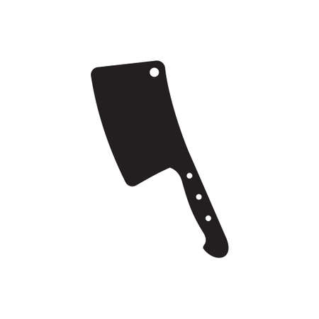 meat knife: Butcher axe
