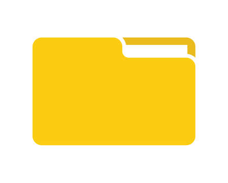 file folder vector icon