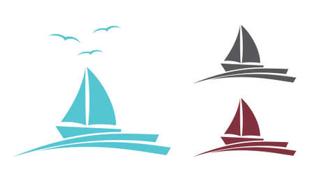 voile: Boat vector icon